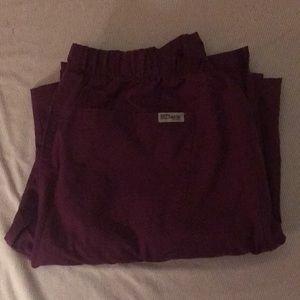 Greys Anatomy classic scrub pants